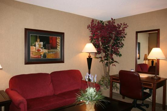 Siloam Springs, AR: Suite Living Area