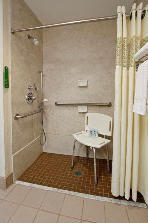 Jasper, IN: Accessible shower