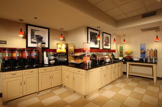 Pennsville, Nueva Jersey: Breakfast Area