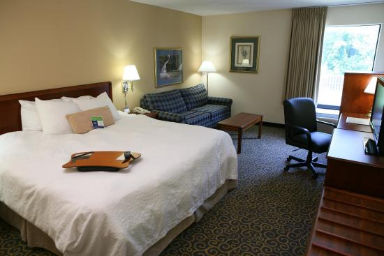 Hampton Inn Cincinnati Eastgate: King Study Rooms