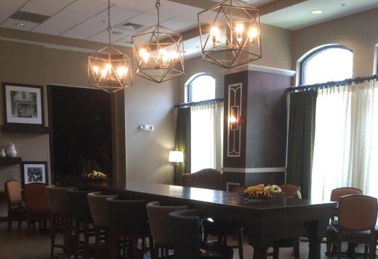 Belmont, Carolina del Norte: Breakfast Eating Area