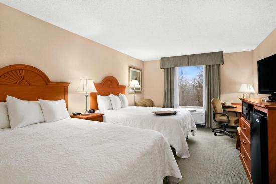 Hampton Inn Heath-Newark: 2 Queen Bed Guest Room