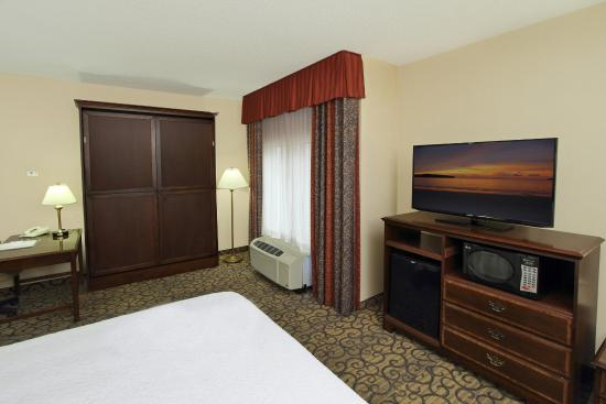 Hampton Inn Princeton: King with Wallbed