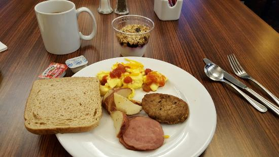 Residence Inn Arlington Rosslyn : Breakfast