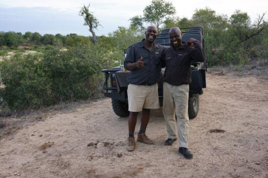 Lion Sands Ivory Lodge: Our guides. Thank you guys!