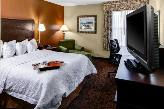 Hampton Inn Baltimore - Washington International Airport: Accessible King Room with Tub