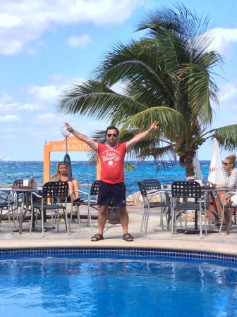 Trattoria Da Salvatore El Cid Resort: Cozumel,Mexico