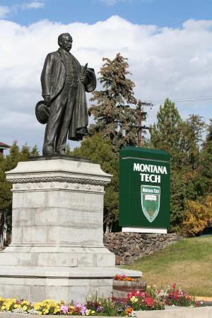 Butte, MT: Marcus Daly Statue Tech