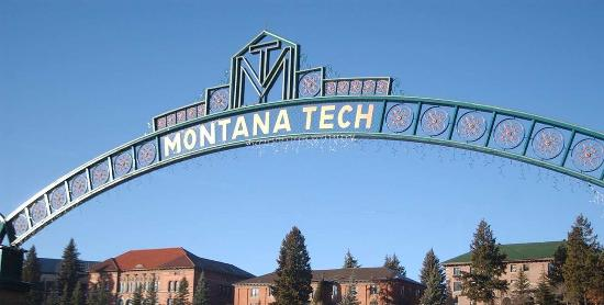 Butte, Монтана: Montana Tech + East Face