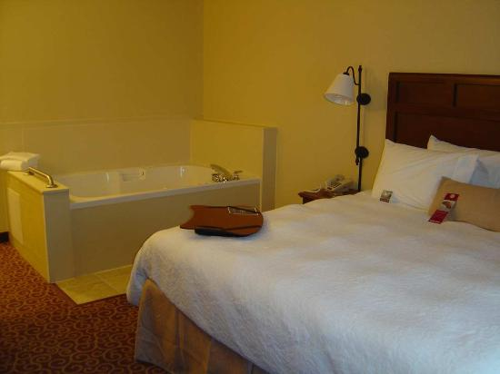 Fremont, OH: King Whirlpool Suite
