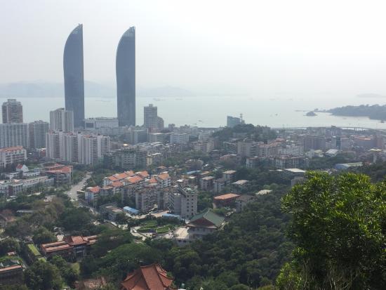 Xiamen Wulao Mountain: 展望台からの景色