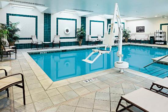 Littleton, NH: Indoor Pool Accessible Entry