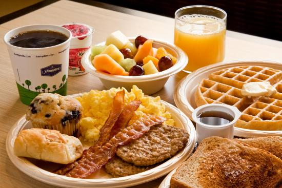 Dunn, Carolina del Norte: Selection of Hot/Cold Breakfast