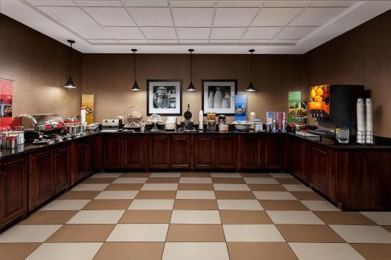 Newberry, Carolina del Sur: Breakfast Serving Area