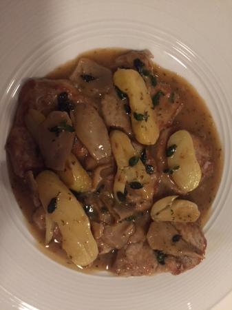 Villa Mozart: Veal Entree. The BEST veal I have ever eaten!