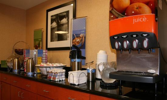 Belle Vernon, Pensilvania: Cold Breakfast Items