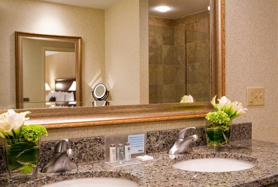 Hampton Inn Boston-Natick: Suite Bathroom