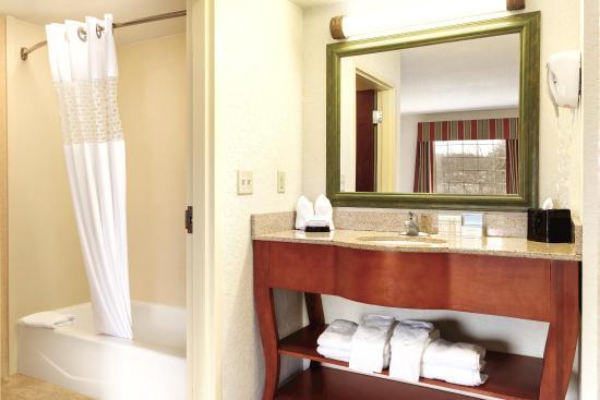 Hampton Inn & Suites Greenfield: Guest Bathroom