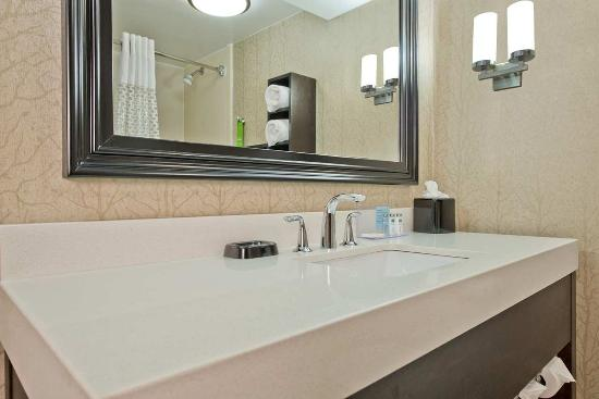 Hampton Inn Anderson: Bathroom