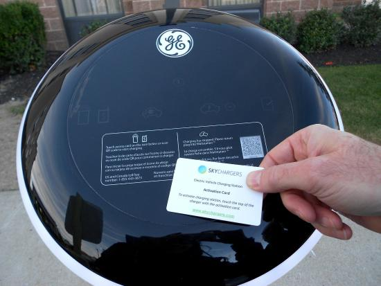Schenectady, NY: Car Charging Station with Activation Card