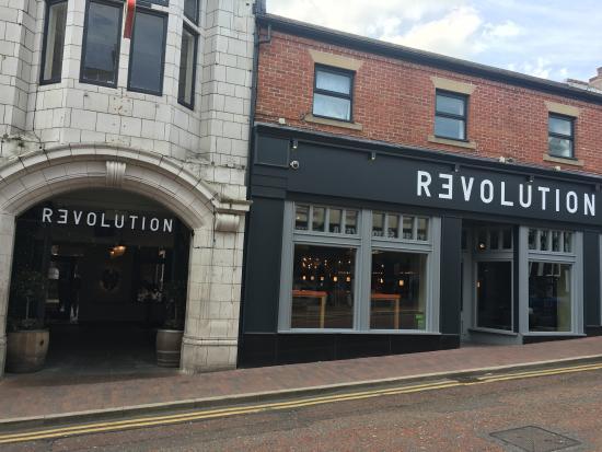 Revolution Macclesfield Menu Prices Restaurant Reviews