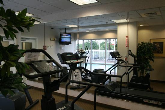 Hampton Inn Jacksonville East Regency Square: Fitness Center