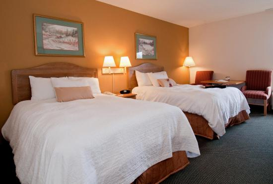 Hampton Inn Brevard: Two Double Beds
