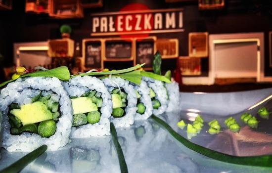 Paleczkami Sushi