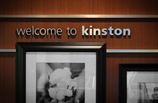 Hampton Inn Kinston : Welcome to Kinston!