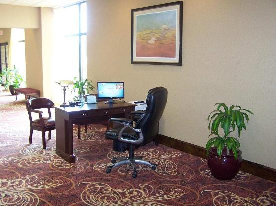 Kinston, Carolina del Norte: Lobby Workstation