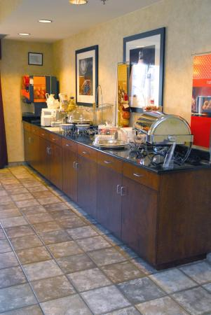 Hampton Inn Columbus Airport: Breakfast Area
