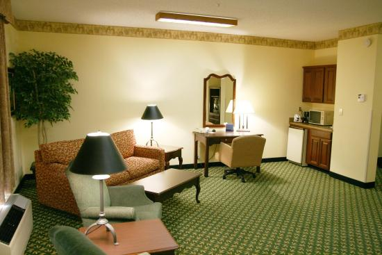 Shelbyville, Индиана: Suite Living Room