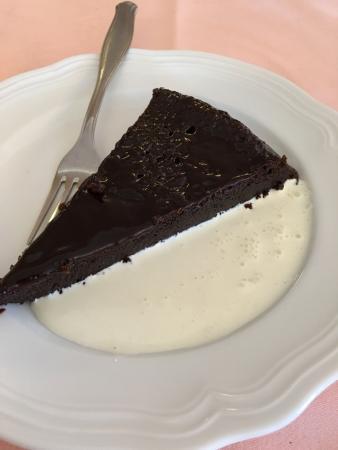 Ristorante Macchiascandona : Torta chioccolato piccante