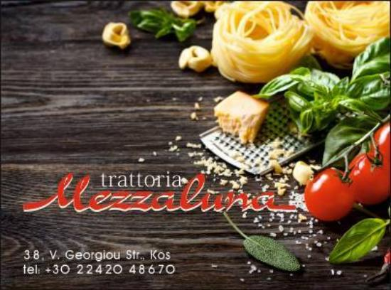 Mezzaluna cousina italiana kos town restaurant avis for Ristorante kos milano