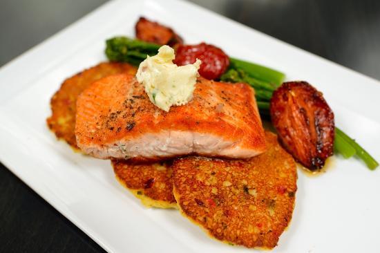 Alexandra's American Fusion: Salmon