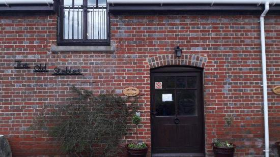 Britford, UK: Our front door - The Constable Cottage