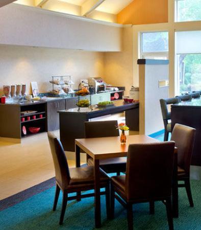 Parsippany, Nueva Jersey: Gatehouse Breakfast & Evening Social Area