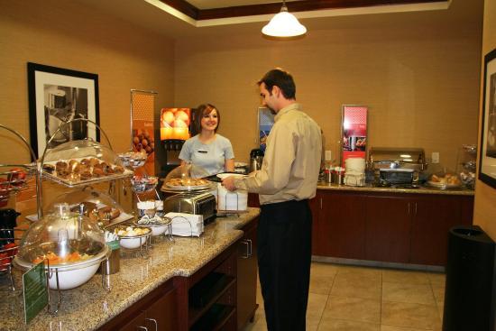 Fairmont, MN: Breakfast Area