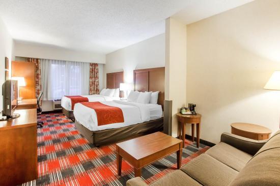 Comfort Suites Vancouver: Guest Room