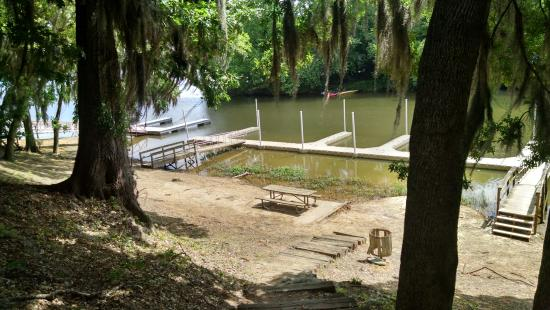 Prattville, Αλαμπάμα: The docks at Cooter's Pond