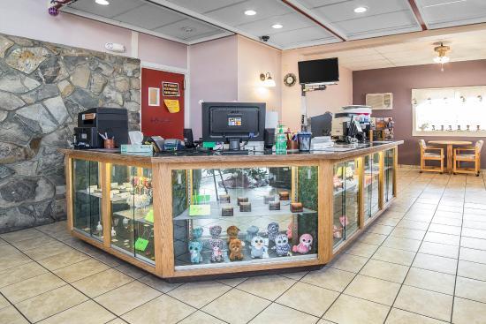Boardman, Oregón: Front desk