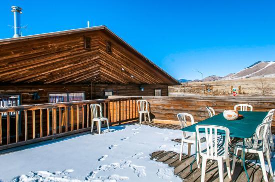 Eagle Nest, NM: Deck