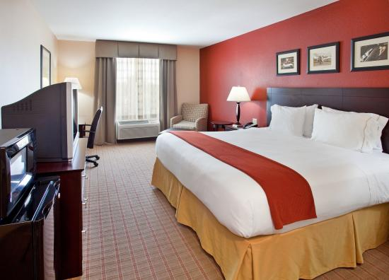 Holiday Inn Express Hotel & Suites Andover/East Wichita: King Bed Guest Room