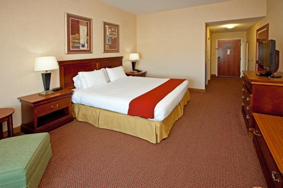 Campbellsville, Κεντάκι: King Bed Guest Room