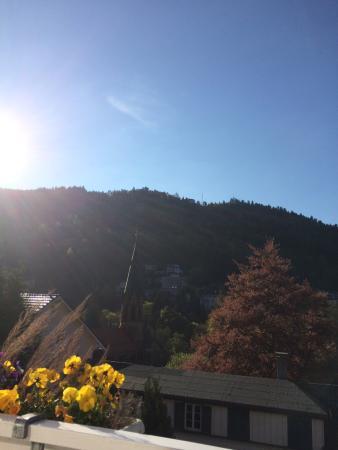 Sommerbergblick im Hotel Rothfuss