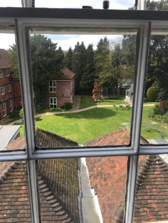 Haslemere, UK: View from the room