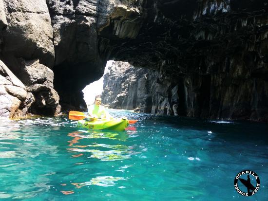 Punta Hidalgo Tenerife Mapa.Kayak Punta Del Hidalgo Tenerife Fotografia De Ocadila Surf School San Cristobal De La Laguna Tripadvisor