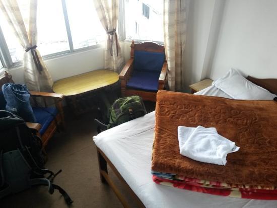 Hotel Tranquility: Zimmer mit Aussicht und ausreichend Decken