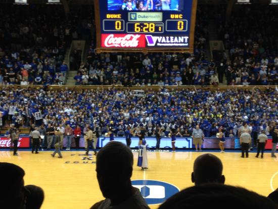 Cameron Indoor Stadium General Admission Seating Www