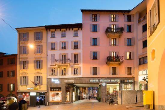Lugano Dante Center Swiss Quality Hotel: Exterior